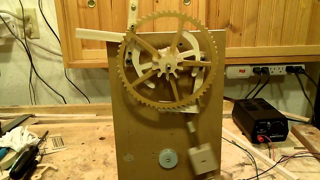 Electro-Magnetic escapement